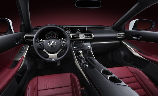 2014 Lexus IS F-Sport   source: Lexus Newsroom