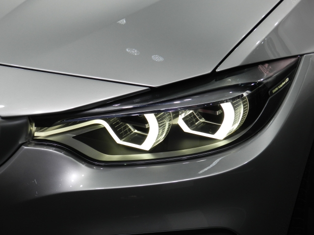 BMW 4-Series Coupe Concept Headlamps     source: AACS