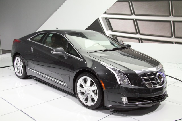 2014 Cadillac ELR - The Winner of the Best Production Vehicle awarded by Eyes on Design