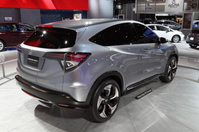 Honda Urban SUV Concept    source: Ingo Rautenberg