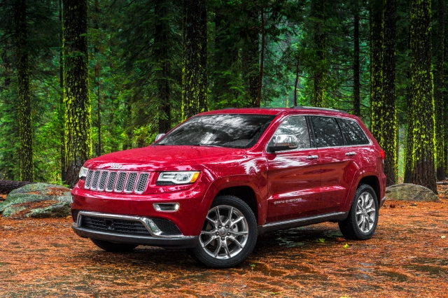 2014 Jeep Grand Cherokee    source: Chrysler