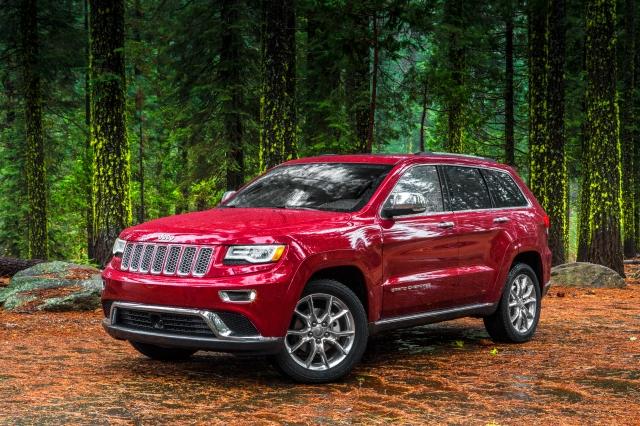 2014 Jeep Grand Cherokee    source: Chrysler