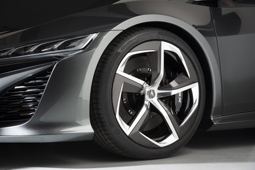 Acura NSX Concept wheels     source: Honda