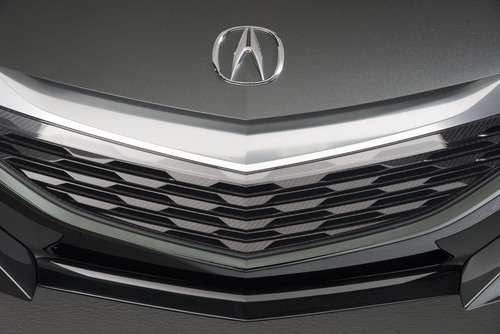 Acura NSX grille    source: Honda