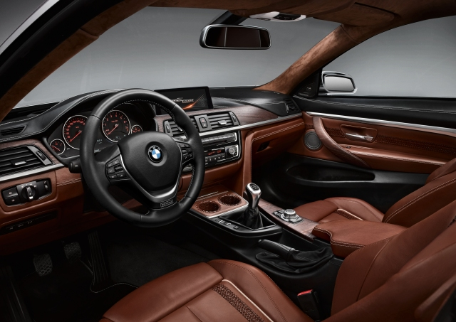 BMW 4-Series Coupe Concept interior     source: BMW AG
