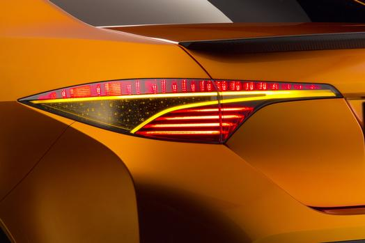Toyota Furia Concept tail lamps    source: Toyota Motor Sales