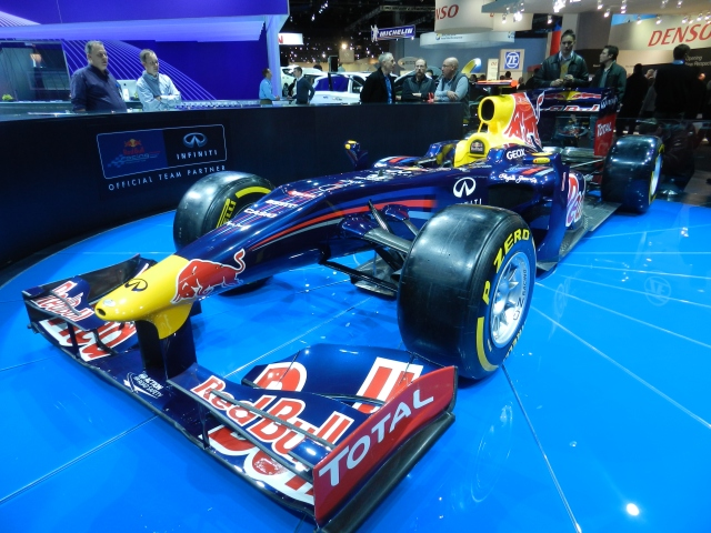 BEST RACE CAR: Red Bull Formula 1    source: AACS