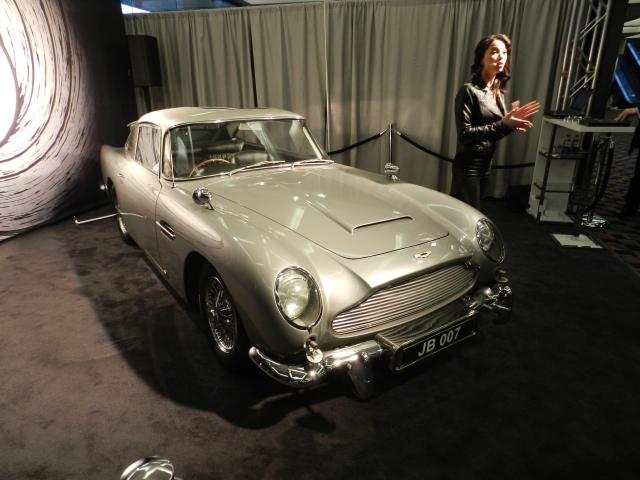 BIGGEST SURPRISE: James Bond's Aston Martin DB5    source: AACS
