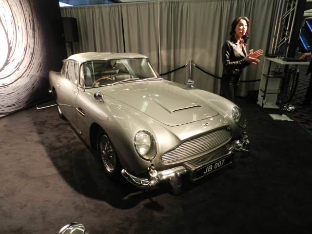BIGGEST SURPRISE: James Bond's Aston Martin DB5    source: AACS