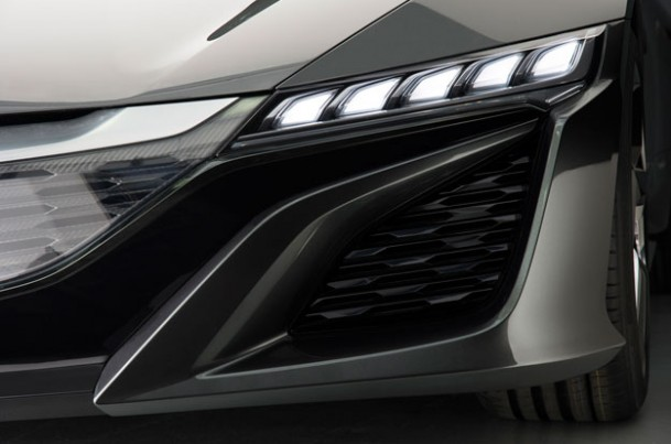 Acura NSX Concept Headlamp   source: American Honda