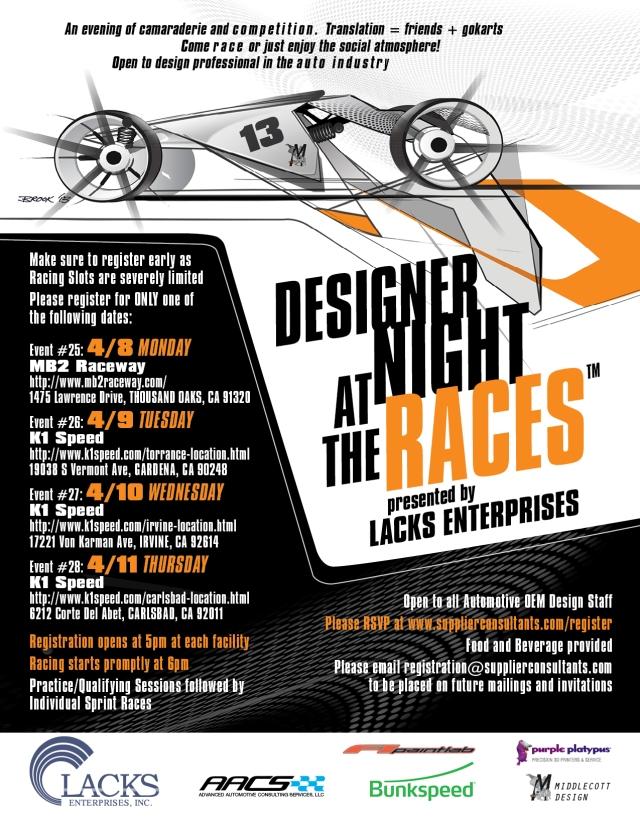 Designer Night at the Races #25-28 California