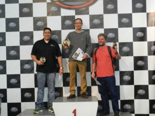 2nd Jeff Chiu/Lacks, 1st James Lee/Honda, 3rd