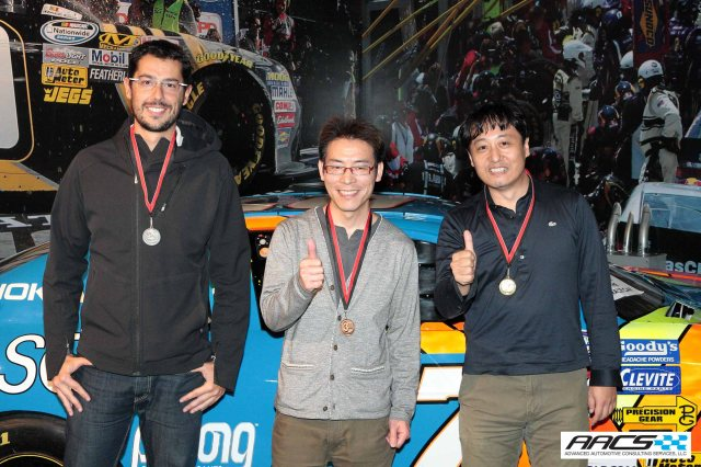 GM, Toyota and Hino grab the trophies in the E-Main