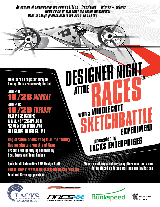Designer Night at the Races #30 & #31 Detroit
