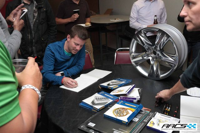 Sketchbattle sponsor Lacks Wheel trim Systems shows off the latest wheel for the Toyota Highlander