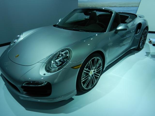 2014 Porsche 911 Turbo Cabrio