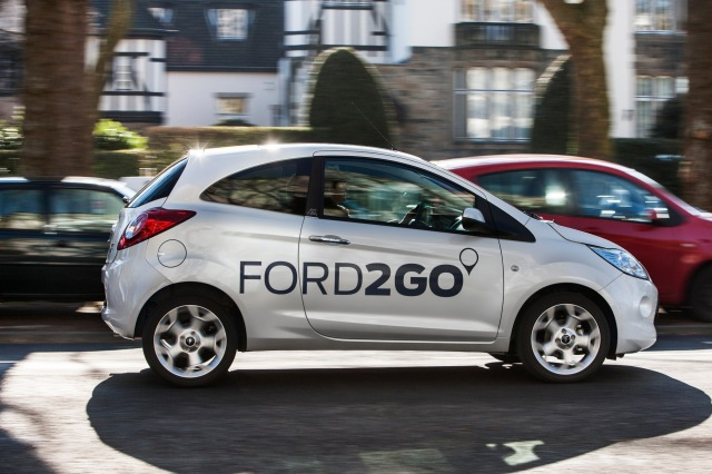 Ford2Go Car Sharing