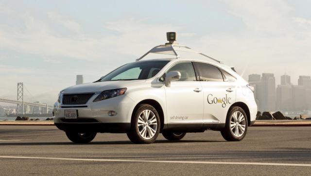 Google added this Lexus RX450h to their test fleet in 2012