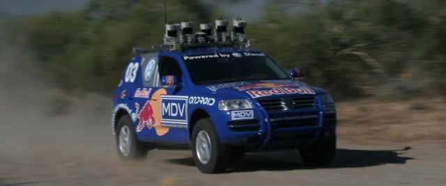 Stanley - Winner of the 2005 DARPA Grand Challenge