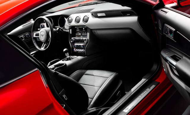 2015 Ford Mustang interior     Photo: Ford