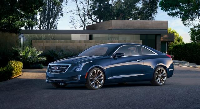 2015 Cadillac ATS Coupe  Photo: GM