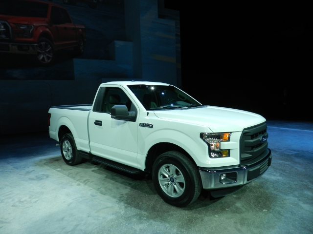 2015 Ford F-150 Photo: AACS