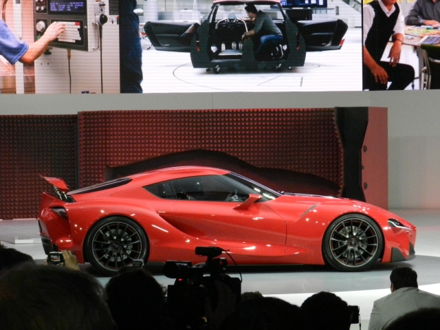 Toyota FT-1 Concept Photo: AACS