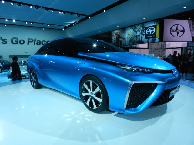 Toyota FCV Concept Photo: AACS