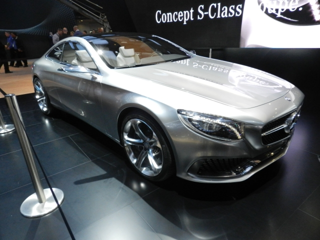 Mercedes S-Class Coupe Concept     Photo: AACS
