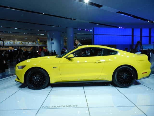 2015 Ford Mustang              Photo: AACS