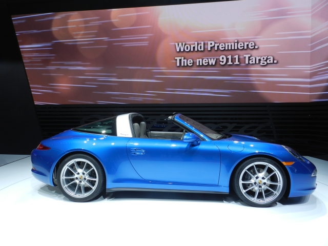 2015 Porsche 911 Targa Photo: AACS