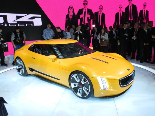 Kia GT4 Stinger Concept  Photo: AACS