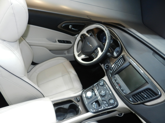 The 2015 Chrysler 200 interior contains numerous pieces from Plastic Plate Inc.
