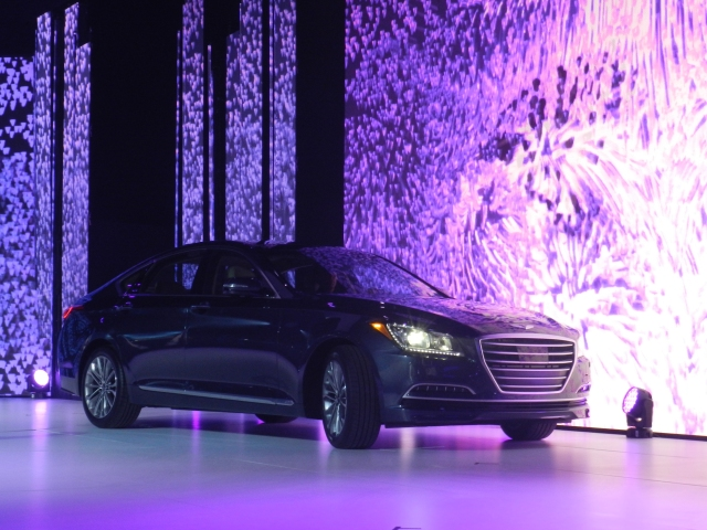 2015 Hyundai Genesis Photo: AACS