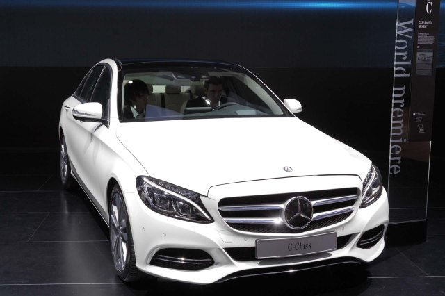 2015 Mercedes C-Class   Photos: Ingo Rantenberg