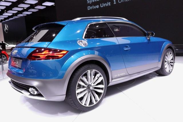 Audi Allroad Shooting Break Concept                 Photo: Ingo Rautenberg