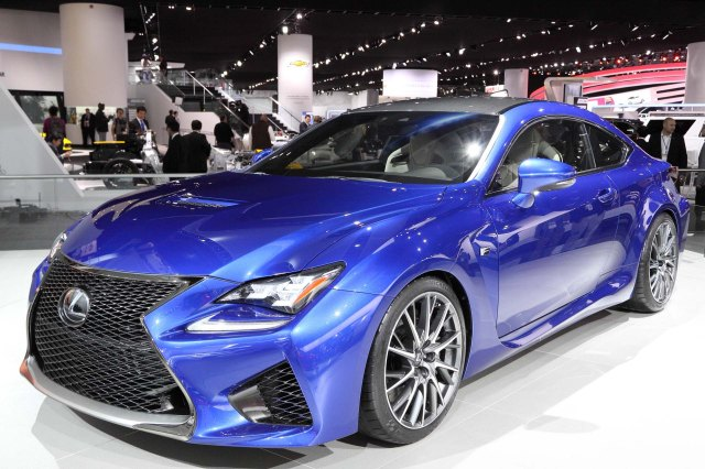 2015 Lexus RC-F    Photo: Ingo Rantenberg