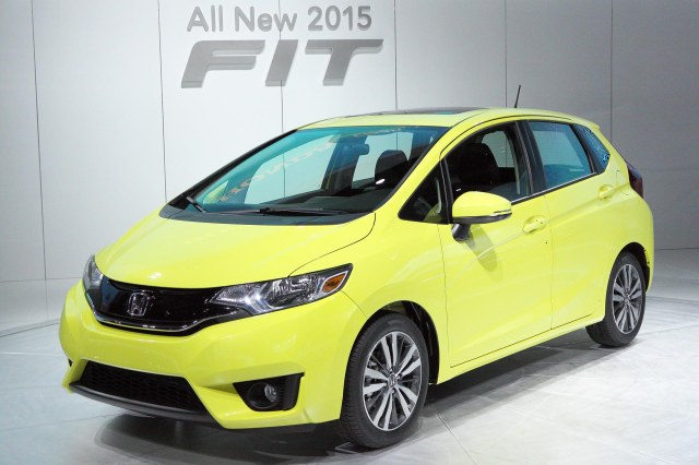 2015 Honda Fit     Photo: Ingo Rautenberg