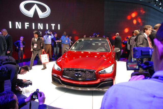 Infiniti Q50 Eau Rouge Concept   Photo: Infiniti