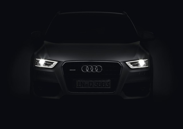 Audi Q3 Daytime Running Lamp signature Photo: Audi