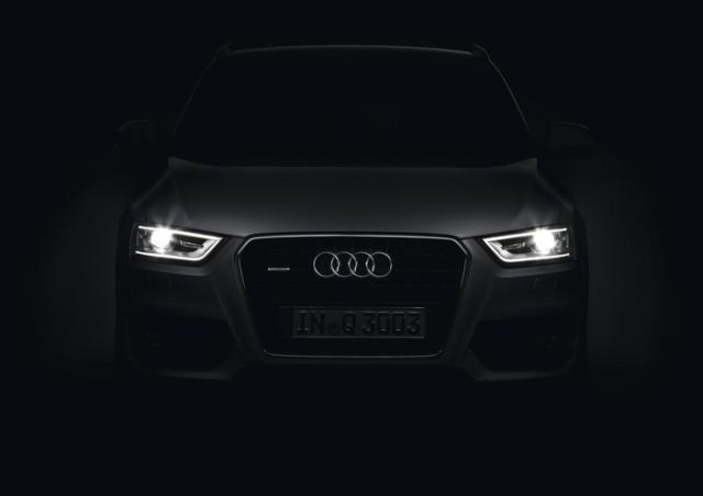 Audi Q3 Daytime Running Lamp signature Photo: Audi