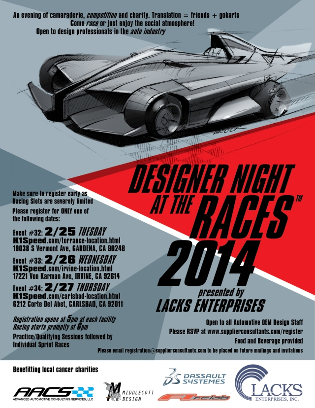 Designer Night at the Races #32 33 & 34 SoCal