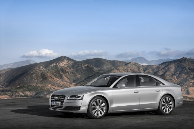 The 2015 Audi A8 features new wheel and finish technology from Lacks