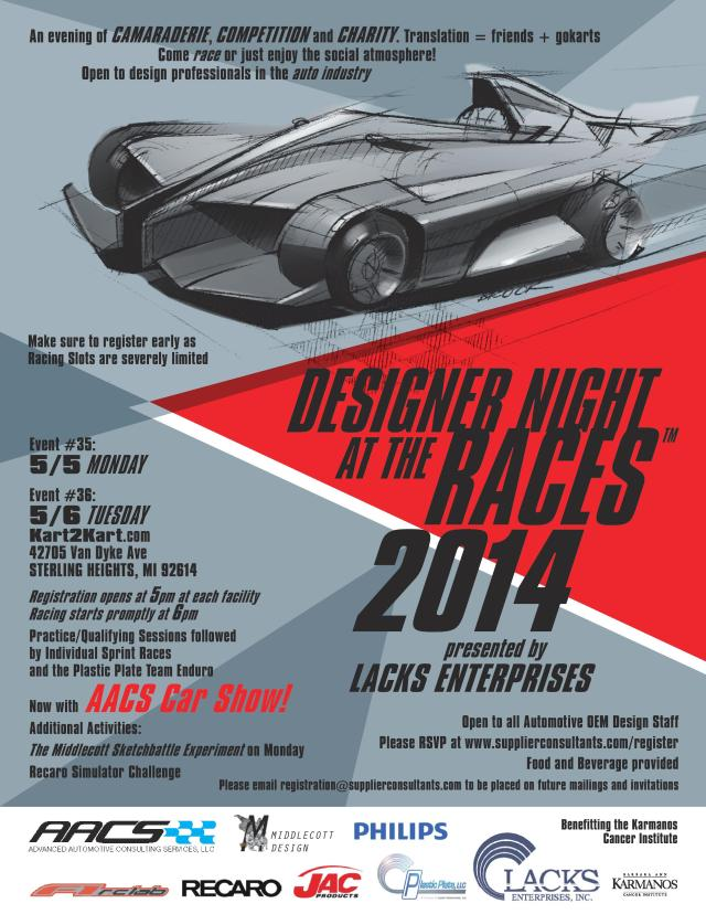 Designer Night at the Races Detroit May 2014