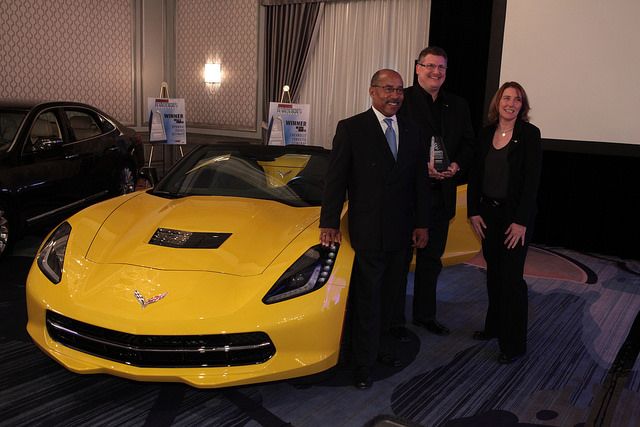 GM's Ed Welburn, Craig Sass and