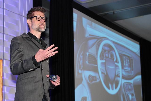 Klaus Busse, Head of Chrysler Dodge and Ram Interiors     Photo: WardsAuto