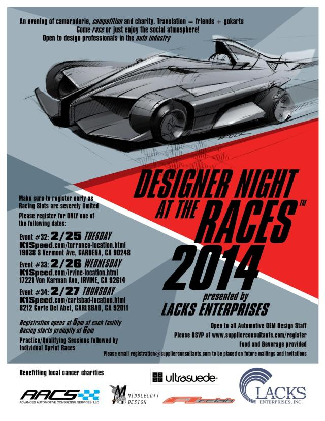 Designer Night at the Races #37-39 California July 2014 final