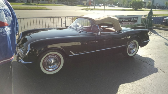 Even the Head of GM gets the car culture in Detroit: Mark Reuss's personally restored Corvette at the Woodward Cruise