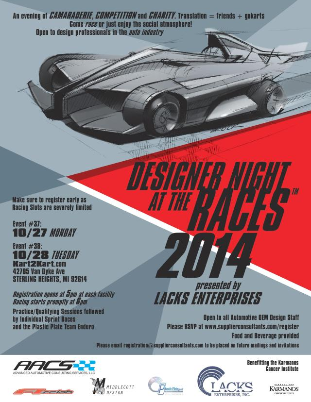 Designer Night at the Races #40-41 Detroit October 2014