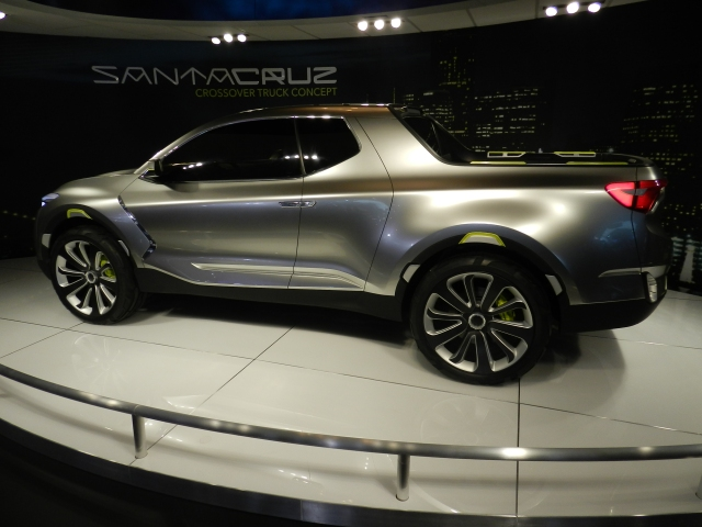 Hyundai Santa Cruz Truck Concept  photo: AACS